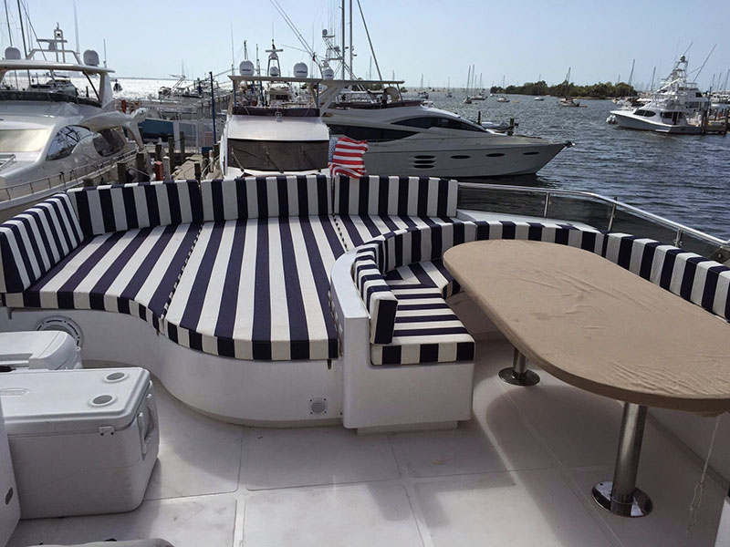 Boat Interior | Cushions | Custom Boat Upholstery and